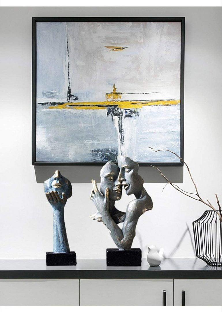 Zmysłowo i Stylowo. Rzeźby Dekoracyjne Twarze.